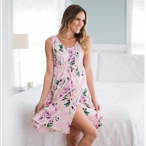 Baby Be Mine Maternity Gown & Robe Set